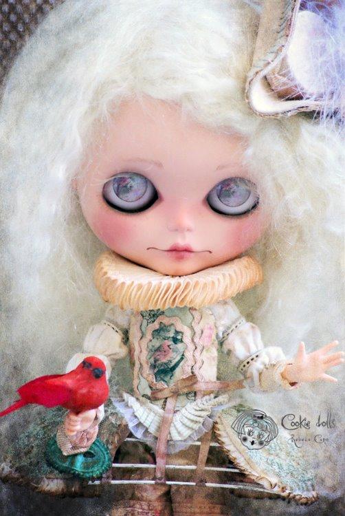 156 (b). Rebeca Cano _ Bianca Venettia The melancholy minstrel (primo piano)