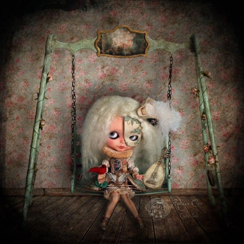 156 (c). Rebeca Cano _ Bianca Venettia The melancholy minstrel